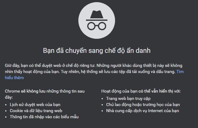 Phím tắt trên Google Chrome hình 1