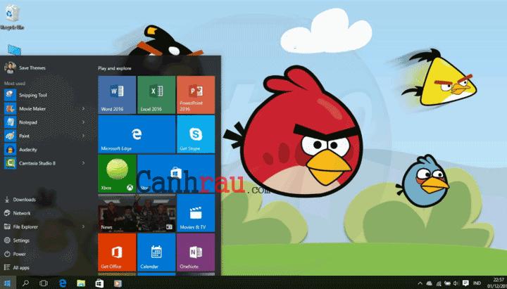 Theme Windows 7 đẹp nhất hiện nay hình 1