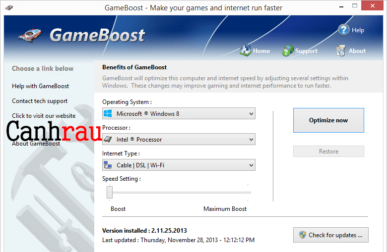 Top phần mềm hỗ trợ chơi game không lag hình 7
