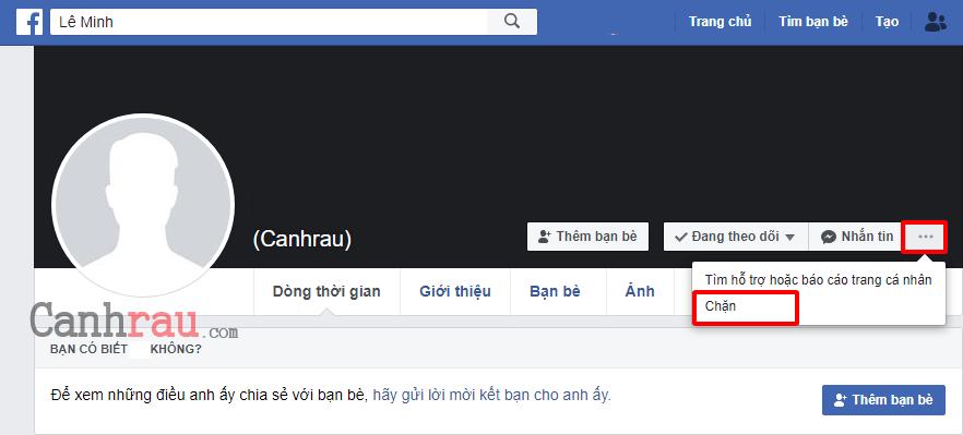 Cách chặn Facebook của người khác hình 1