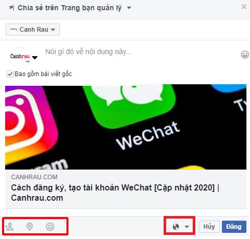 Cách chia sẻ bài viết trên Facebook hình 11