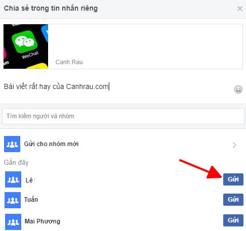 Cách chia sẻ bài viết trên Facebook hình 5