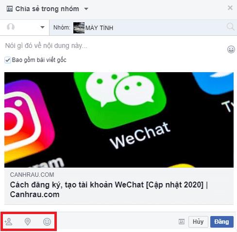Cách chia sẻ bài viết trên Facebook hình 7