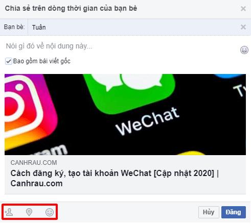 Cách chia sẻ bài viết trên Facebook hình 9