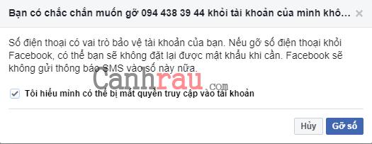 Cách đổi số điện thoại trên Facebook hình 5