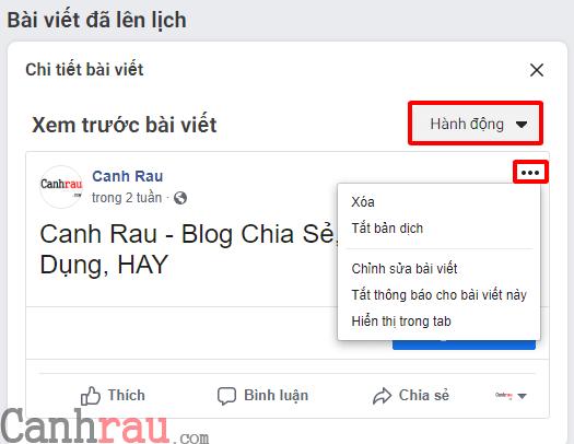 Cách hẹn giờ đăng bài trên Facebook hình 7