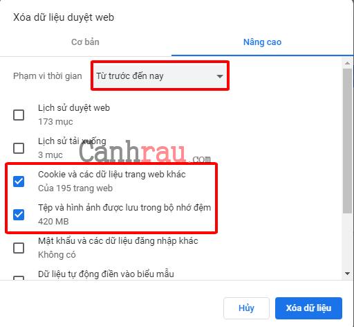 Cách sửa lỗi kết nối của không phải riêng tư hình 6