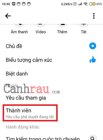 Cách tạo nhóm chat trên Messenger hình 7