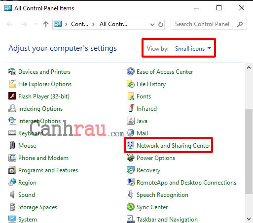 Cách thay đổi DNS trên Windows 10 hình 2