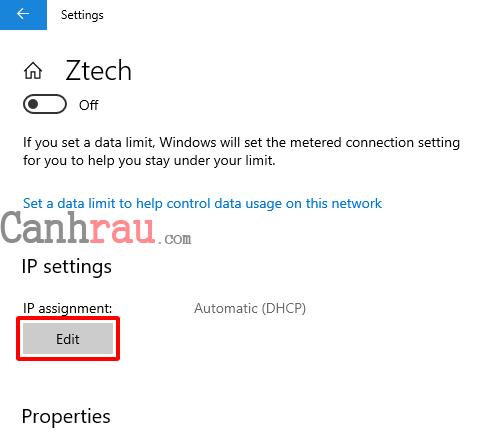 Cách thay đổi DNS trên Windows 10 hình 8
