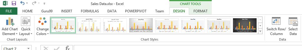 Cách vẽ biểu đồ trong Excel hình 5