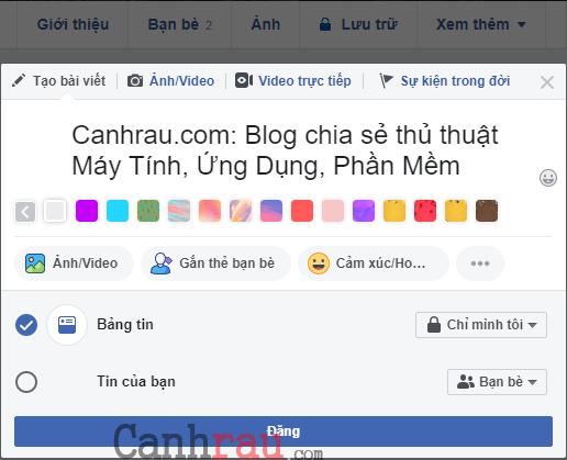 Cách viết chữ in đậm trên Facebook hình 4