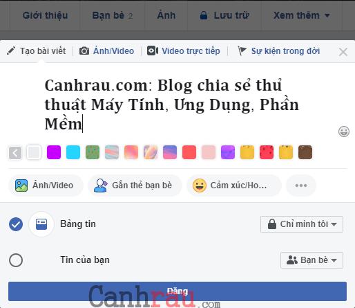 Cách viết chữ in đậm trên Facebook hình Cách viết chữ in đậm trên Facebook hình 6