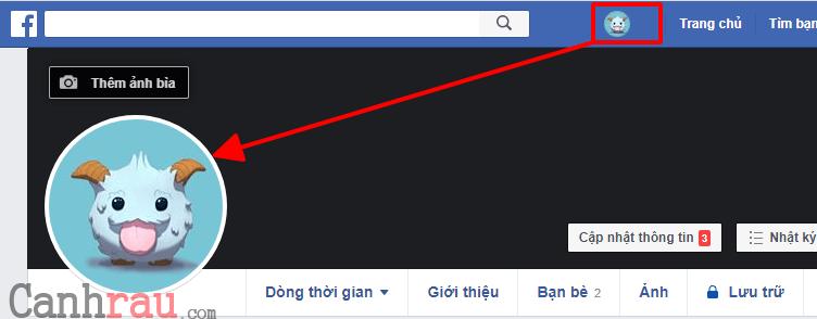 Cách xóa ảnh trên Facebook hình 1