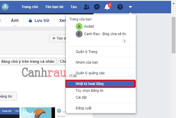 Cách xóa ảnh trên Facebook hình 7