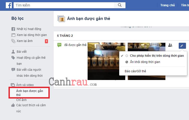 Cách xóa ảnh trên Facebook hình 8