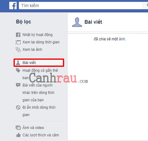 Cách xóa tất cả bài viết trên Facebook hình 12