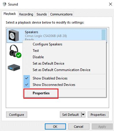 Sửa lỗi máy tính bị mất âm thanh trên Windows 10 hình 15