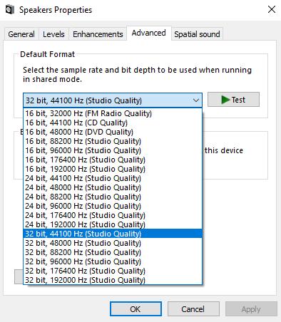 Sửa lỗi máy tính bị mất âm thanh trên Windows 10 hình 16