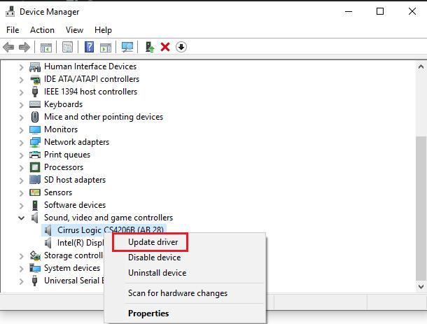 Sửa lỗi máy tính bị mất âm thanh trên Windows 10 hình 18