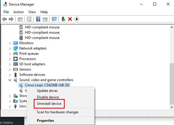 Sửa lỗi máy tính bị mất âm thanh trên Windows 10 hình 20
