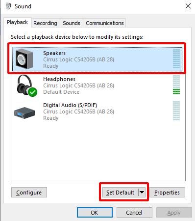 Sửa lỗi máy tính bị mất âm thanh trên Windows 10 hình 7