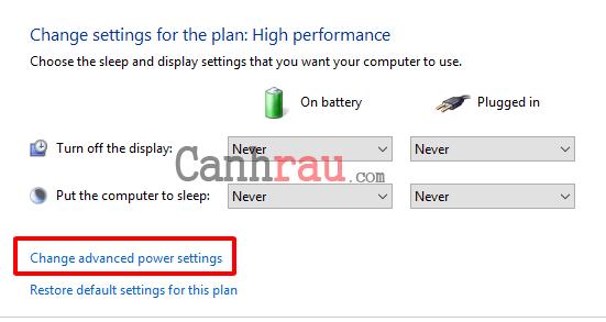 Sửa lỗi máy tính tự khởi động lại hoặc tự động tắt máy hình 11