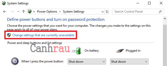 Cách bật tắt Hibernate trên Windows 10 hình 16