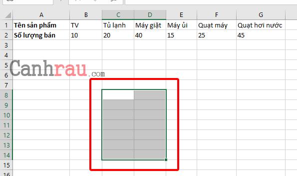 Cách chuyển hàng thành cột trong Excel hình 5