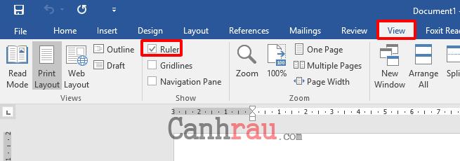 Cách đặt tab trong Word hình 4