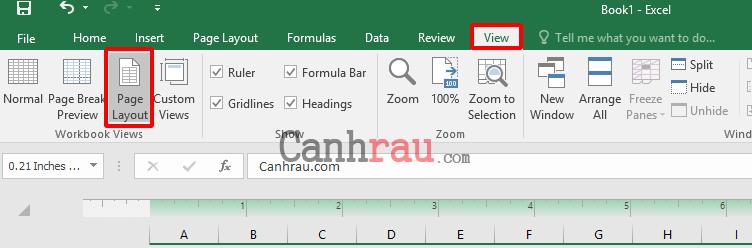 Cách giãn dòng trong Excel hình 9