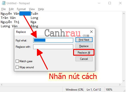 Cách gộp ô trong Excel hình 5