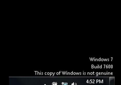 Cách sửa lỗi this copy of windows is not genuine hình 1