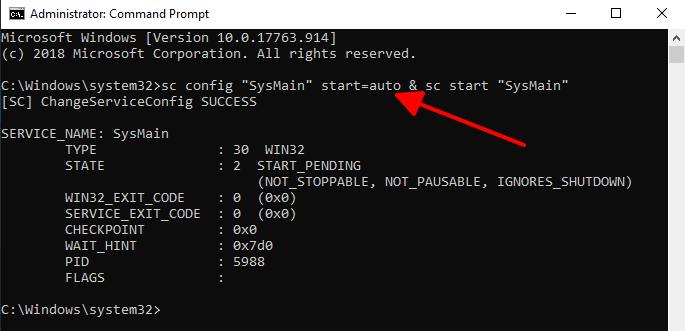 Cách tắt Superfetch trên Windows 10 hình 2