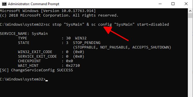 Cách tắt Superfetch trên Windows 10 hình 3