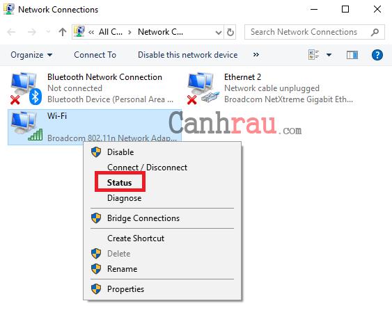 Cách xem địa chỉ IP trên máy tính hình 3