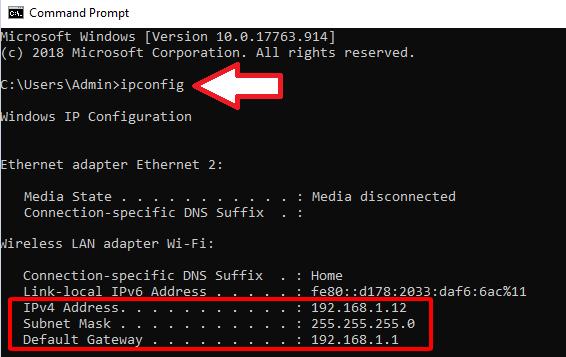 Cách xem địa chỉ IP trên máy tính hình 7