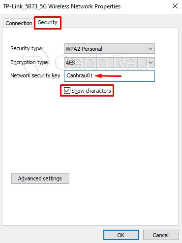 Cách xem mật khẩu Wifi Windows 10 hình 5