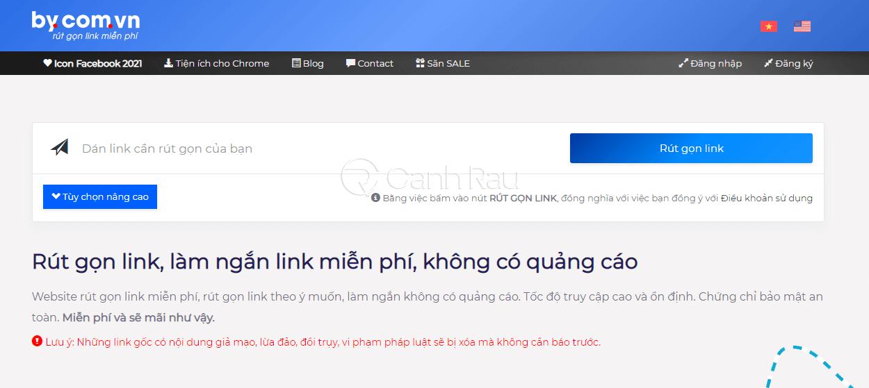 Trang web rút gọn link tốt nhất hình 4