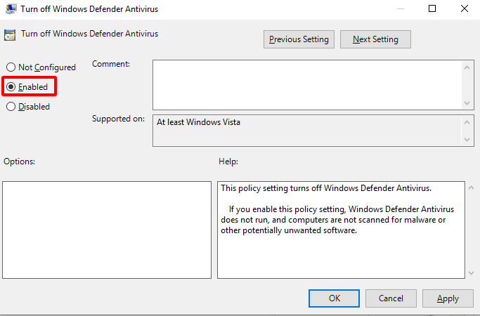 Vô hiệu hoá Windows Defender bằng Local Group Policy 4