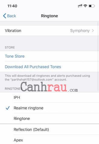 Cách cài đặt nhạc chuông cho điện thoại iPhone hình 22