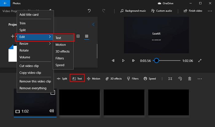Cách chèn chữ vào video trên máy tính hình 4
