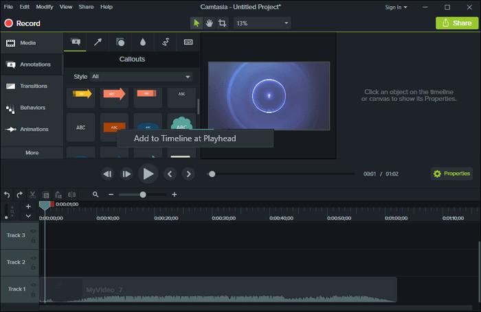 Cách chèn chữ vào video trên máy tính hình 8