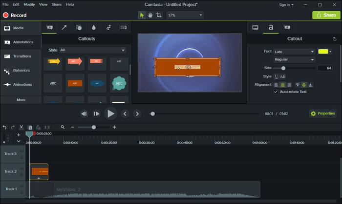Cách chèn chữ vào video trên máy tính hình 9