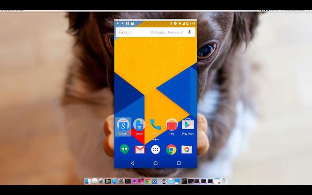 Cách chiếu màn hình điện thoại lên máy tính hình 4