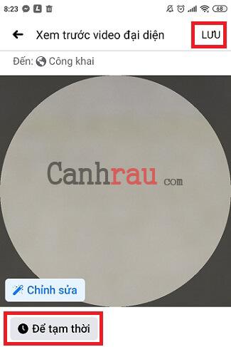 Cách đặt ảnh GIF Video làm ảnh đại diện Facebook hình 7