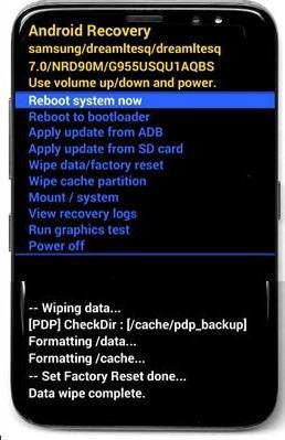 Khôi phục cài đặt gốc điện thoại Samsung hình 29