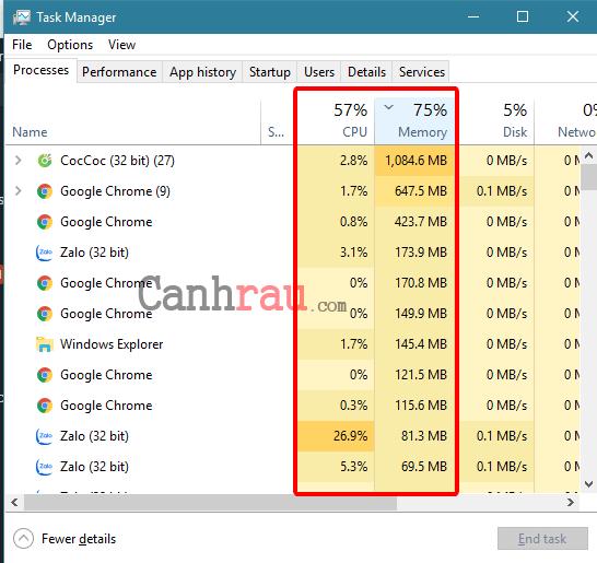 Cách làm máy tính chạy nhanh hơn và mượt hơn hình 4