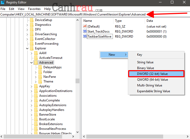 Cách làm trong suốt thanh Taskbar trên Windows 10 hình 4