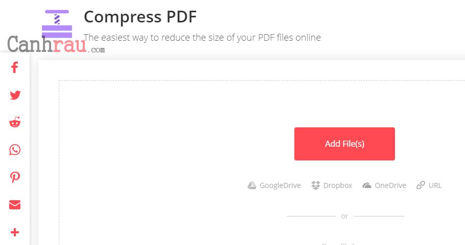Cách nén file để làm giảm dung lượng file PDF hình 1